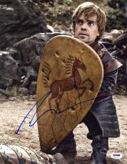 Peter Dinklage SIGNED 11x14 Photo Tyrion Lannister Game of Thrones PSA/DNA