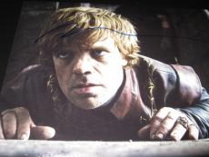 PETER DINKLAGE SIGNED AUTOGRAPH 8x10 GAME OF THRONES PROMO IN PERSON COA AUTO X1