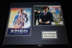 Peter Dinklage Signed Framed 16x20 Photo Display X Men Bolivar Trask
