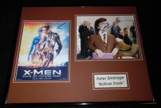 Peter Dinklage Signed Framed 16x20 Photo Set X Men Bolivar Trask