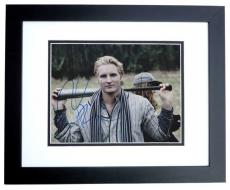 Peter Facinelli Signed - Autographed 8x10 Photo BLACK CUSTOM FRAME - TWILIGHT Actor