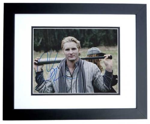 Peter Facinelli Signed - Autographed 8x10 inch Photo BLACK CUSTOM FRAME - Guaranteed to pass PSA or JSA - TWILIGHT Actor