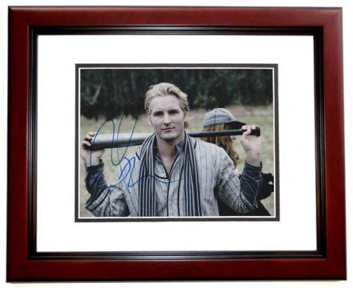Peter Facinelli Signed - Autographed 8x10 inch Photo MAHOGANY CUSTOM FRAME - Guaranteed to pass PSA or JSA - TWILIGHT Actor