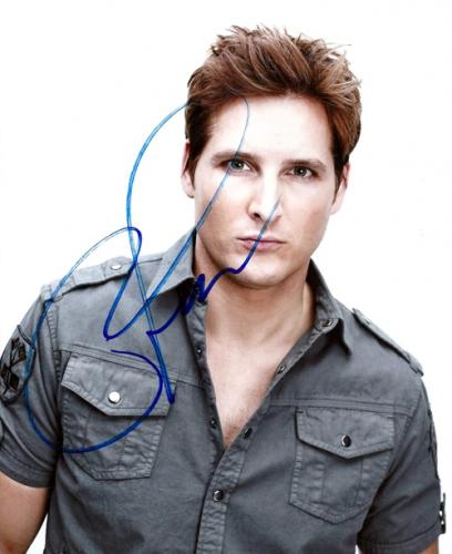 Peter Facinelli Autographed Signed Suave Photo UACC RD COA AFTAL