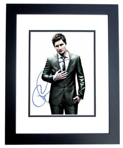 Peter Facinelli Signed - Autographed TWILIGHT Actor 8x10 inch Photo BLACK CUSTOM FRAME - Guaranteed to pass PSA or JSA