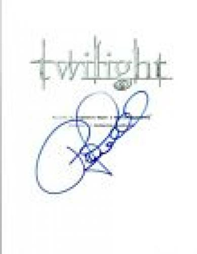 Peter Facinelli Signed Autographed TWILIGHT Full Movie Script COA VD