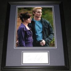 Peter Facinelli Signed Framed 11x14 Photo Display Twilight
