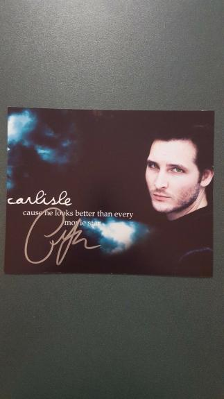 Peter Facinelli-signed photo  - coa - 7