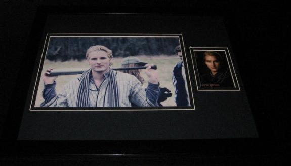 Peter Facinelli Twilight Signed Framed 11x14 Photo Display