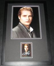 Peter Facinelli Twilight Signed Framed 11x17 Photo Display