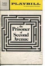 Peter Falk Lee Grant Tresa Hughes Neil Simon The Prisoner Second Avenue Playbill