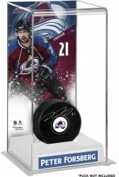 Peter Forsberg Colorado Avalanche Deluxe Tall Hockey Puck Case