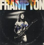 Peter Frampton Autographed Frampton Album Cover - PSA/DNA COA