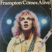 Peter Frampton Autographed Frampton Comes Alive Album Cover - PSA/DNA COA