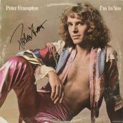 Peter Frampton Autographed I'm In You Album Cover - PSA/DNA COA
