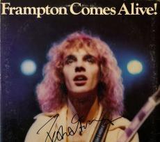 Peter Frampton Autographed Signed Comes Alive Album Cover AFTAL UACC RD COA