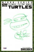 Peter Laird TEENAGE MUTANT NINJA TURTLES TMNT Signed Sketch Comic PSA/DNA COA #8