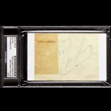 Peter Lawford Signed Auto Psa Dna Autograph Rat Pack 83691622