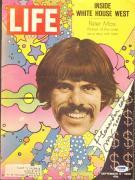 Peter Max Signed 1969 LIFE Magazine Cover PSA/DNA COA Autograph Pop Art Artist
