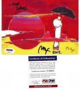 Peter Max Signed Autographed Auto 5x6 Postcard PSA DNA T56301