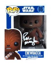Peter Mayhew Signed Funko Pop Star Wars Chewbacca #06 Vinyl Action Figure