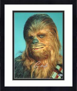 "PETER MAYHEW Signed  STAR WARS ""Chewbacca"" 11x14 Photo BECKETT BAS #C12461"