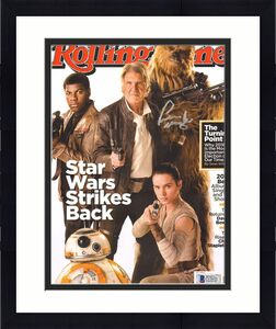 PETER MAYHEW Signed Star Wars ROLLING STONE Magazine BECKETT BAS #C12432