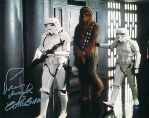 Peter Mayhew Signed/Autographed STAR WARS Chewbacca 8x10 Photo Steiner 143670