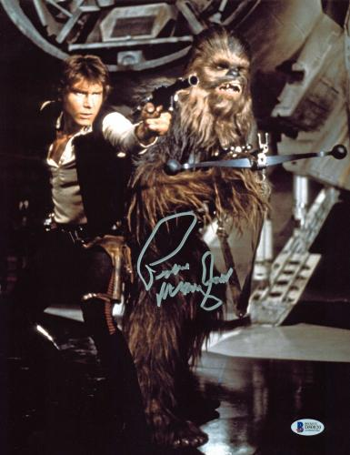 Peter Mayhew Star Wars Signed 11x14 Photo Autographed BAS #D80820