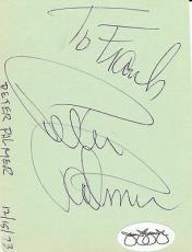 Peter Palmer Signed Album Page JSA