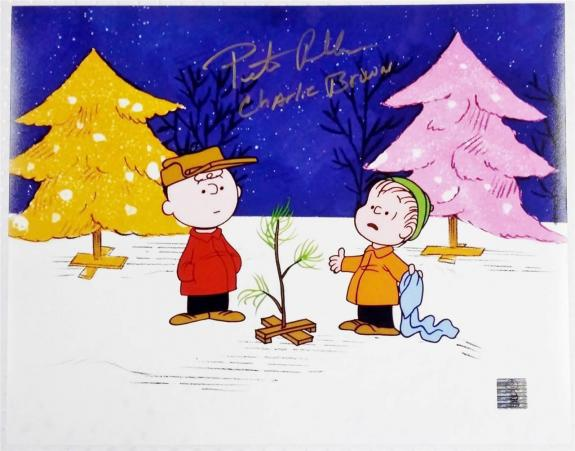 PETER ROBBINS voice Of Charlie Brown signed 11x14 photo w/ Official Hologram (F)