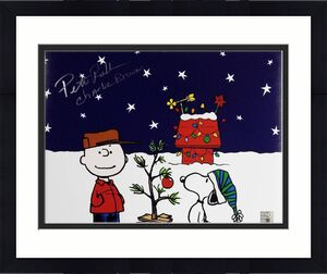 Peter Robbins Voice Of Charlie Brown Signed 11x14 Photo w/ Official Hologram (H)