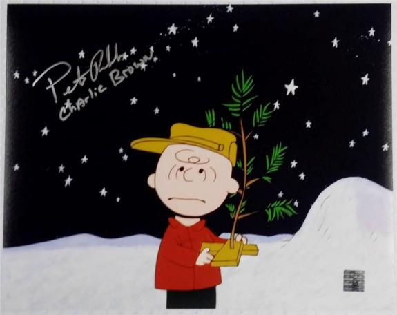 Peter Robbins Voice Of Charlie Brown Signed 11x14 Photo w/ Official Hologram (I)