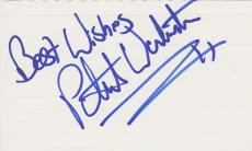 Peter Warburton Signed - Autographed 3x5 inch Card - Guaranteed to pass PSA or JSA - SEINFELD Actor
