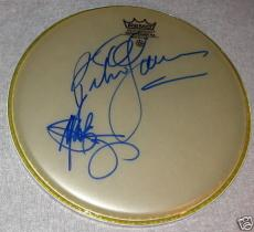 Peter Yarrow & Paul Stookey Signed Autograph Drum Head