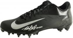 Adrian Peterson Minnesota Vikings Autographed Nike Game Model Left Cleat with All Day Inscription - Mounted Memories