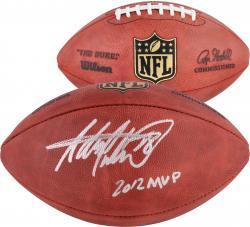 Adrian Peterson Minnesota Vikings Autographed Pro Football with 2012 NFL MVP Inscription
