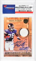 Adrian Peterson Minnesota Vikings Autographed 2013 Panini #13 Card with All Day Inscription - Mounted Memories  - Mounted Memories
