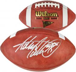 Adrian Peterson Oklahoma Sooners Autographed NCAA Football - Mounted Memories