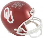 Adrian Peterson Oklahoma Sooners Autographed Riddell Replica Helmet