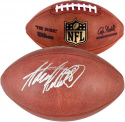 Autographed Adrian Peterson Football - Mounted Memories