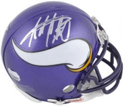 Adrian Peterson Autographed Mini Helmet