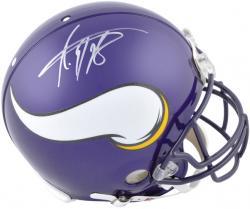 Riddell Adrian Peterson Minnesota Vikings Autographed Pro Line Authentic Helmet