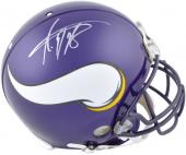 Riddell Adrian Peterson Minnesota Vikings Autographed Pro Line Authentic Helmet - Mounted Memories
