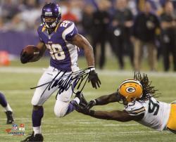 Adrian Peterson Autographed Vikings 8x10 Photo