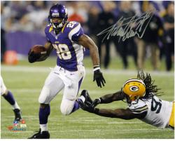 "Adrian Peterson Minnesota Vikings Autographed 8"" x 10"" Action Photograph"