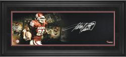 "Adrian Peterson Oklahoma Sooners-Framed Autographed 10"" x 30"" Filmstrip Photograph-Limited Edition of 28"