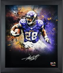 Adrian Peterson Minnesota Vikings Framed Autographed 20'' x 24'' In Focus Photograph-Limited Edition of 28 - Mounted Memories