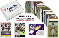 Adrian Peterson Minnesota Vikings Collectible Lot of 20 NFL Trading Cards - Mounted Memories