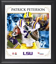 "Patrick Peterson LSU Tigers Framed 15"" x 17"" Core Composite Photograph"